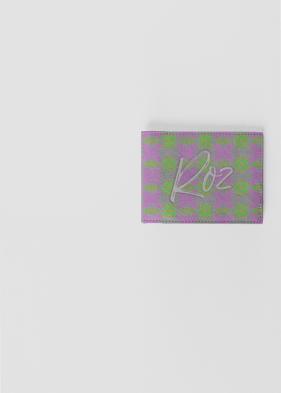Roz leather slimfold wallet