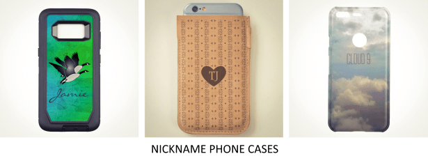 Nickname Phone Cases3