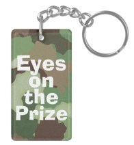 Eyes on the Prize keychain