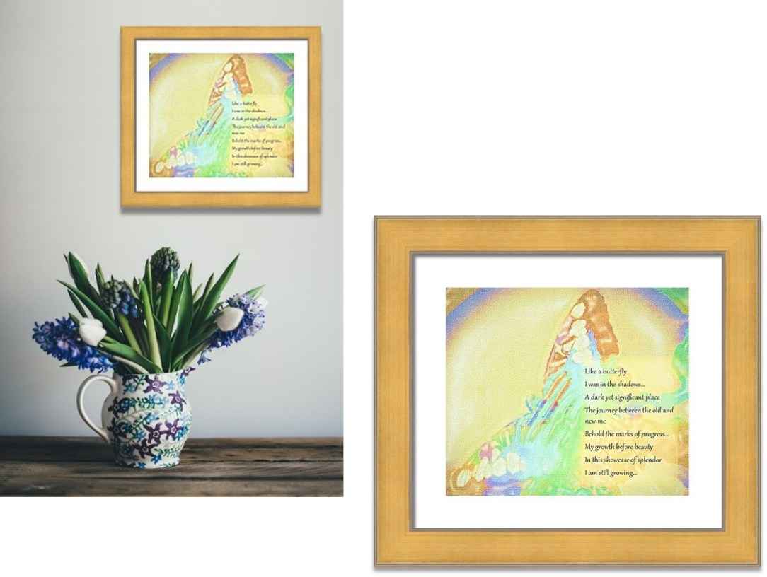 Framed Art: Journey
