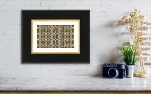 Abstract Pattern: Uncommon by Patricia Griffin