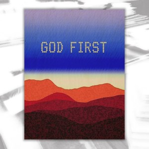God First Wood Wall Decor by Patricia Griffin