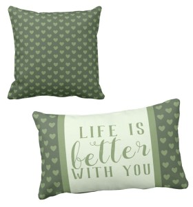 Custom Throw Pillows by Patricia Griffin