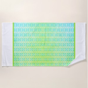 Beach and Picnic Towel by Patricia Griffin