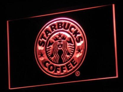 Starbucks neon sign LED