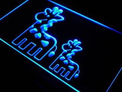 Giraffe Family neon sign LED