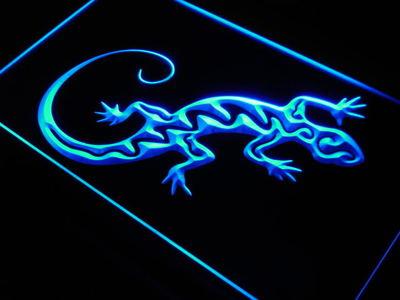 Salamander neon sign LED