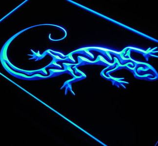 Salamander neon sign LED