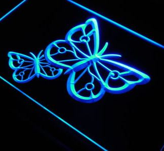 Butterflies neon sign LED