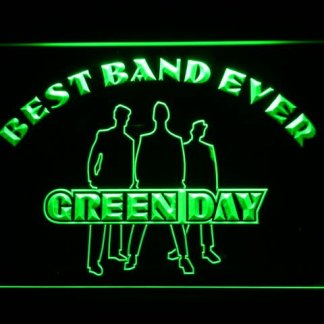 Green Day Best Band Ever neon sign LED