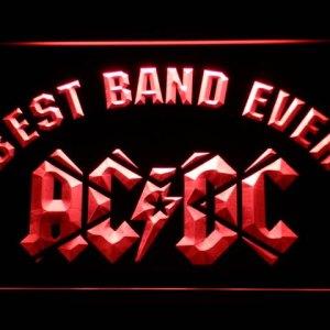 AC/DC neon light sign