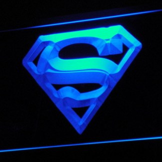 Superman neon sign LED