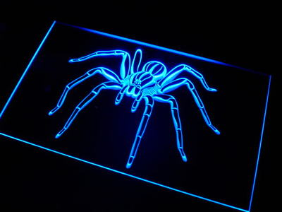 Spider neon sign LED