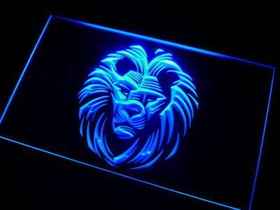 Lion neon sign LED