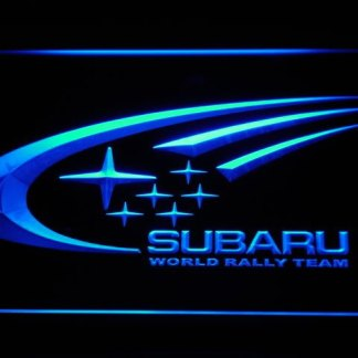 Subaru neon sign LED