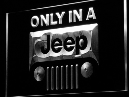 Jeep neon sign LED