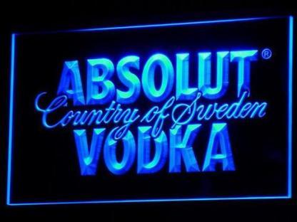 Absolut Vodka neon sign LED