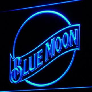 Blue Moon neon sign LED