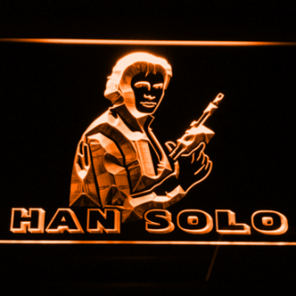 Star Wars Han Solo neon sign LED