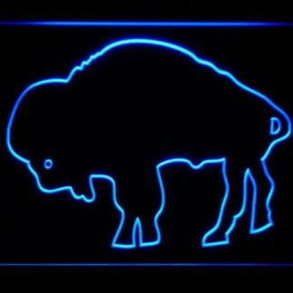 Buffalo Bills 1970-1973 Silhoutte Logo - Legacy Edition neon sign LED