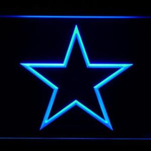 Dallas Cowboys Star Outline neon light sign
