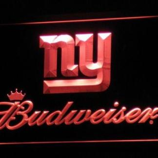 New York Giants Budweiser neon sign LED