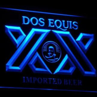 Dos Equis neon sign LED
