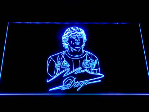 Fc Barcelona Diego Maradona Neon Sign Led Sign Shop What S Your Sign