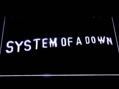 System Of A Down Toxicity neon sign LED