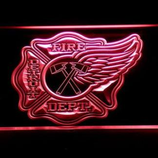 Fire Department Detroit neon sign LED