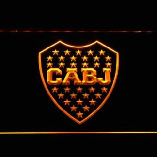 Club Atletico Boca Juniors Crest neon sign LED