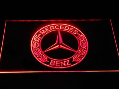Mercedes Benz Old Logo neon sign LED