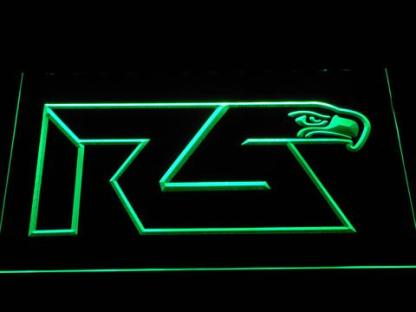 Seattle Seahawks Richard Sherman Logo neon sign LED