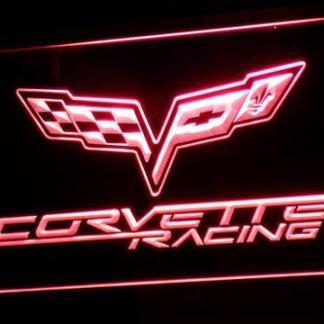 Chevrolet Corvette Racing neon sign LED