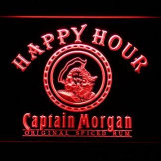 Captain Morgan Original Happy Hour neon sign LED