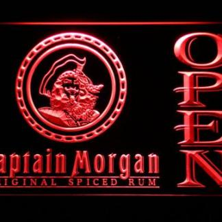 Captain Morgan Original Spiced Rum Open neon sign LED