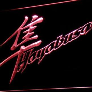 Suzuki Hayabusa neon sign LED