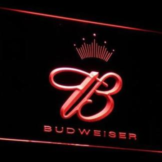Budweiser Crowned B neon sign LED