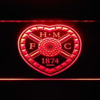 Heart of Midlothian F.C. neon sign LED