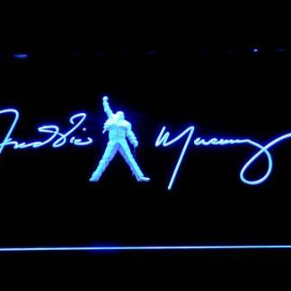 Freddie Mercury Signature neon sign LED