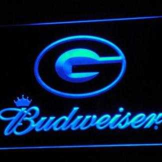 Green Bay Packers Budweiser neon sign LED