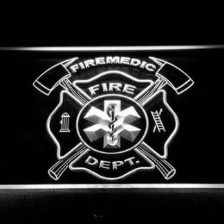 Fire Department Fire Medic neon sign LED