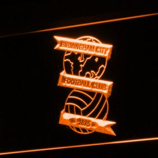 Birmingham City Football Club neon sign LED