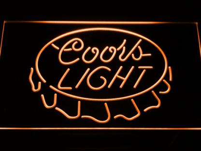 Coors Light - Crown neon sign LED