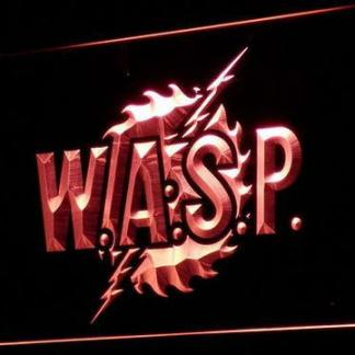 W.A.S.P. neon sign LED