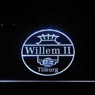 Willem II Tilburg neon sign LED