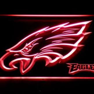 Philadelphia Eagles Head neon sign LED