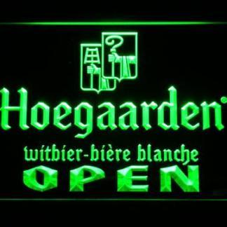 Hoegaarden Open neon sign LED