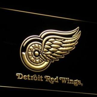Detroit Red Wings neon sign LED