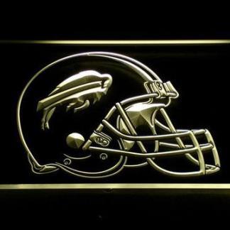 Buffalo Bills Helmet neon sign LED